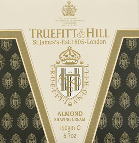 Hill Almond Shaving Cream - Truefitt & Hill Almond Shaving Cream Jar 6.7 ounces by Truefitt & Hill
