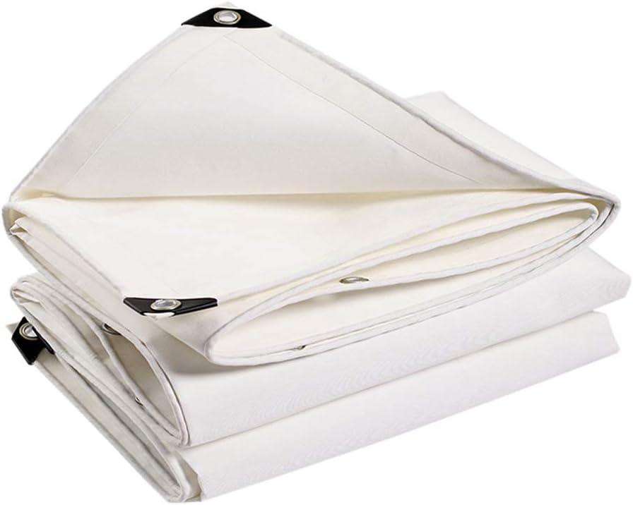 DGLIYJ 屋外のテントのための紫外線保護雨キャンバスの高密度防水シートの頑丈な防水シートを日除けする防水シートの風邪500g (Size : 5x7m)  5x7m