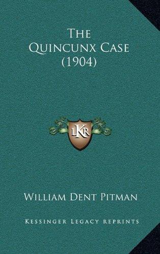 The Quincunx Case (1904) pdf epub