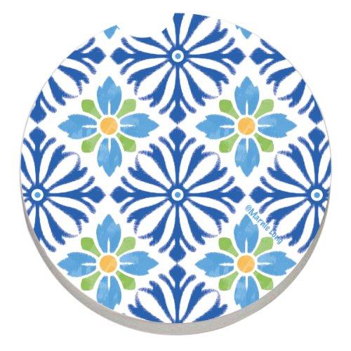 CounterArt Absorbent Stoneware Coaster Mediterranean