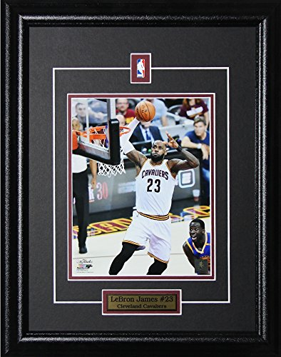 Lebron James Cleveland Cavaliers Memorabilia NBA 16x20 Collectible Sports Frame 8x10 - Glasses James Lebron With