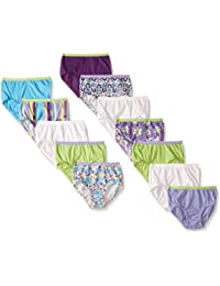 Little Girls' Assorted Briefs (Pack of 12)