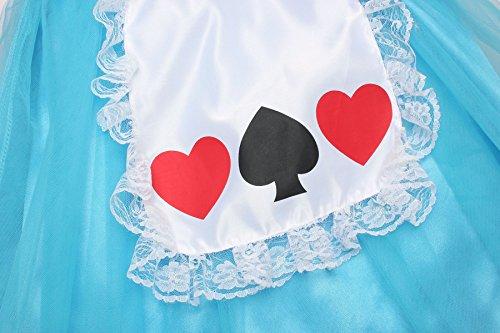 Loel Girls Wonderland Alice Costume Dress up