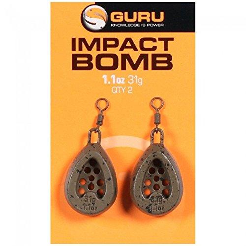 Guru Impact de la bombe 1.1 Onces Leads équipement pêche GMB11