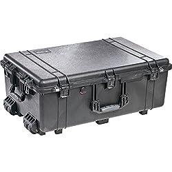Pelican 1650 Rolling Case No Foam (Black)