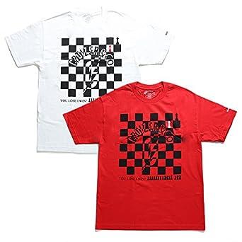 【1001C】 クルーザーアンドコー CRUIZER\u0026CO Tシャツ 半袖 かっこいい チェッカーフラッグ チェスボード ブランド