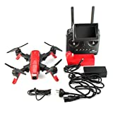 Folding RC drone 250 Quad FPV Racing Drone / UAV with camera, SMD Red Arrow, 15 minutes flying time.