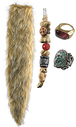 Jack Sparrow Costume Accessories (Disguise Capt Jack Sparrow Accessory Kit Potc4)