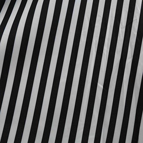 Stampata Abito Hot Cerimonia da Nero Donna Lungi Sera Vita Donna Partito con Eleganti Style Hepburn Senza Note Vintage Maniche Abito in Casual da Gonna Vintage Aderente da Sonnena XIAvx