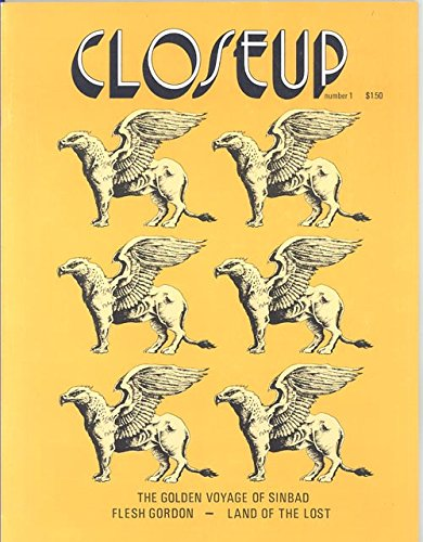 Closeup Magazine Number 1 1975 (Griffins From the Golden Voyage of Sinbad)
