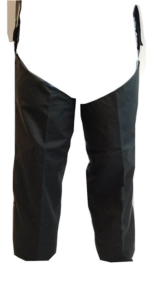 Countrywear Studded Wax Leggings Chaps, Shooting, Beating, Walking, Hunting,Fishing One Size (One Size)