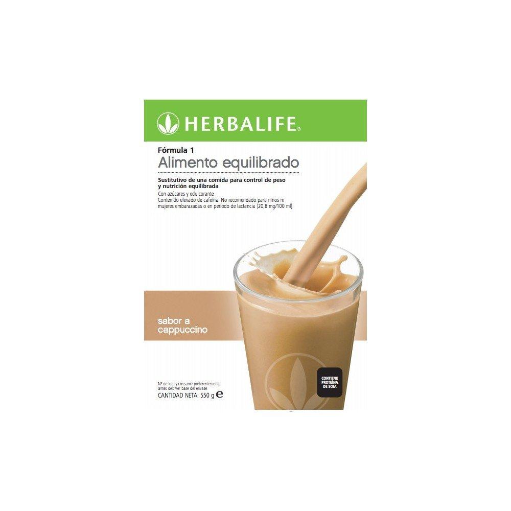 Batido Sustitutivo pérdida de peso F1 (Café Latte): Amazon.es: Salud y cuidado personal