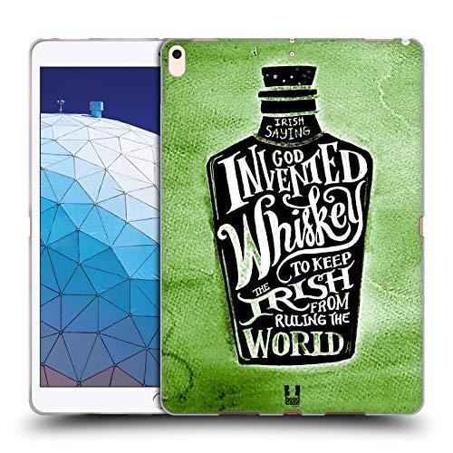 Head Case Designs Whiskey Bottle Irish Craic Soft Gel Case Compatible for iPad Air (2019) (Best Irish Whiskey 2019)