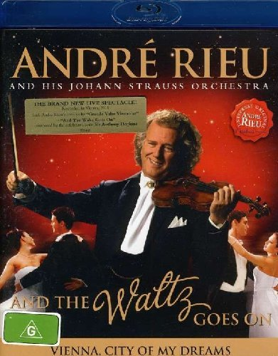 Blu-ray : Andre Rieu - And the Waltz Goes on (Portugal - Import)