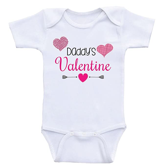 Amazon Com Heart Co Designs Valentines Day Baby Clothes Daddy S