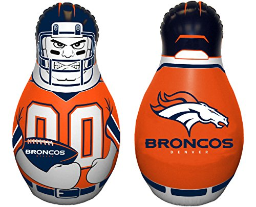 Fremont Die NFL Denver Broncos Tackle Buddy Inflatable Punching Bag
