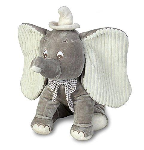 Disney Dumbo Plush Toy - Seated Dumbo Disney Movie Toy - 16 Inch Stuffed Elephant