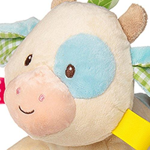 51NsFxXgiEL - Mary Meyer Taggies Casey Plush Toy, Cow