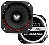 2) New Pyramid TW44 1'' 600W Heavy Duty Titanium Dome Bullet Car Super Tweeters