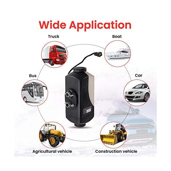 51NsGBRLUFL maXpeedingrods 2KW 12V Diesel Standheizung Heizgerät für LKW Wohnwagen Boot Yacht LCD-Schalter