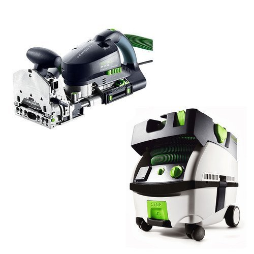 Festool PN574422 Domino XL Joiner with CT MINI HEPA 2.6 Gallon Mobile Dust Extractor by Festool