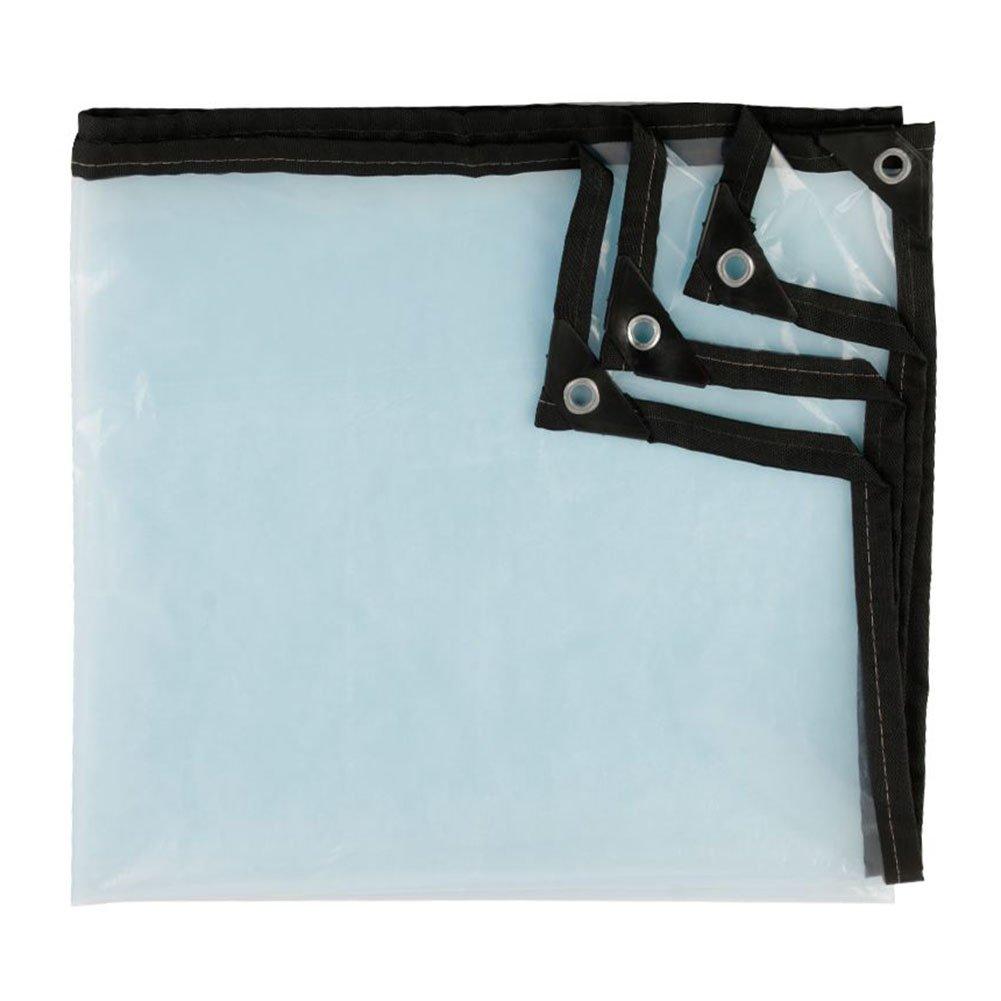 X-L-H Groß-Verteilung Markise Push-Pull-Schuppengehäuse Transparentes Tuch Zelt Regendicht Wasserdicht KälteBesteändig Windschutzscheibe Kunststofftuch