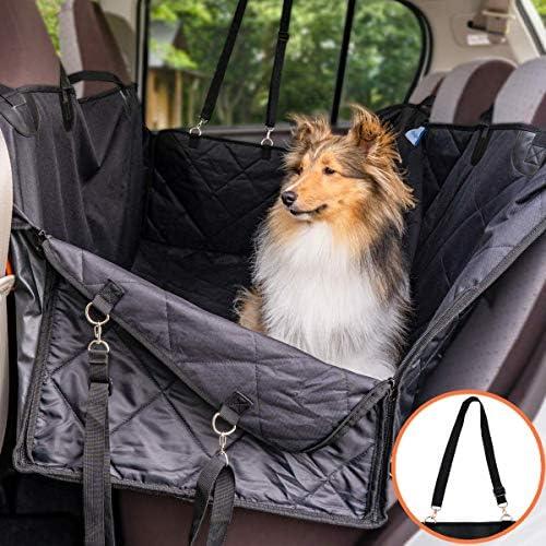 [スポンサー プロダクト]ペット用ドライブシート 車用ペットシート 安全ベルト付き 防水 滑り止め-洗濯可-全車種全ペット対応(ペットクルーズ)