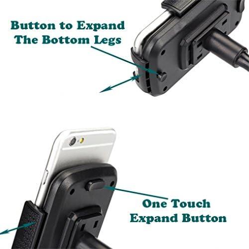 SM-G928V - Verizon Samsung Galaxy S6 Edge + SM-G925V Premium Car Cup Holder Adjustable Phone Mount Dock for Verizon Samsung Galaxy S6 SM-G920V - Verizon Samsung Galaxy S6 Edge