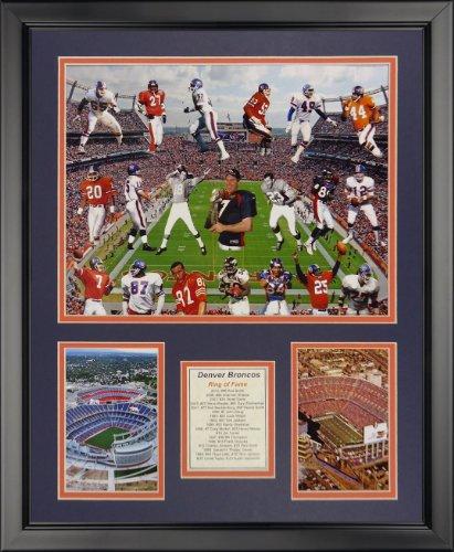 Legends Never Die NFL Denver Broncos Greats Framed Photo Collage, 18