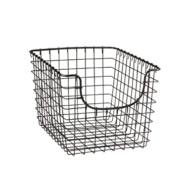 Spectrum Diversified 98876 Scoop Basket, Small, Industrial Gray