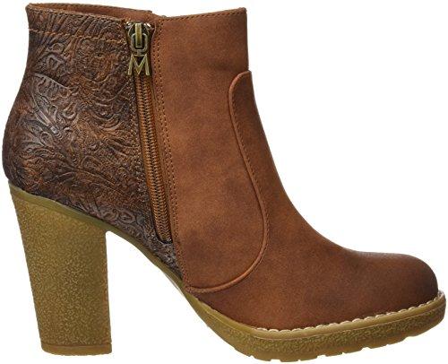 MTNG Originals 61411, Zapatos de Tacón con Punta Cerrada para Mujer Marrón (SUEDI CUERO / EMBOSSED CUERO)