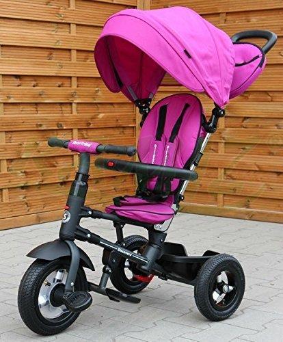 SporTrike Discovery Select Kinder Dreirad Kinderwagen - Violett