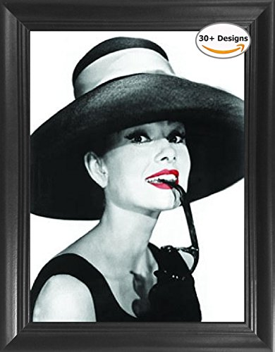 Audrey Hepburn Breakfast at Tiffany's Framed 3D Lenticular Picture - 14.5x18.5