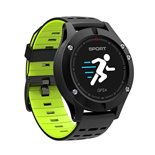 Ljxan New Color Smart Bracelet Gps Positioning Riding Sports Watch Models Measured Temperature Elevation Cuiyan  Color   Black Green