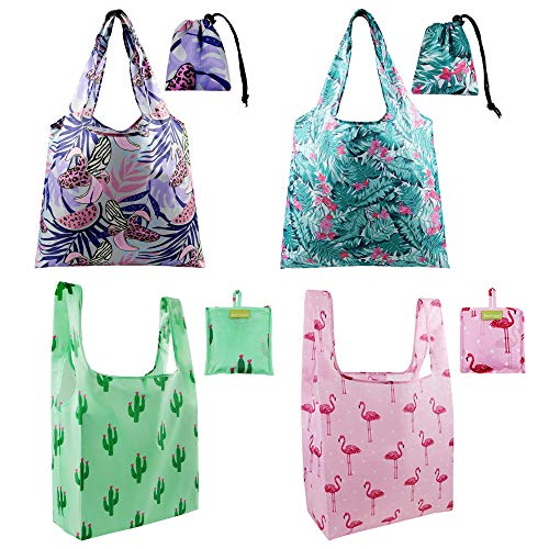 Grocery Bags Reusable Bags for Shopping Tote Bag Foldable Bag for Shopping Bulk Pouch Washable Studry Machine Wash