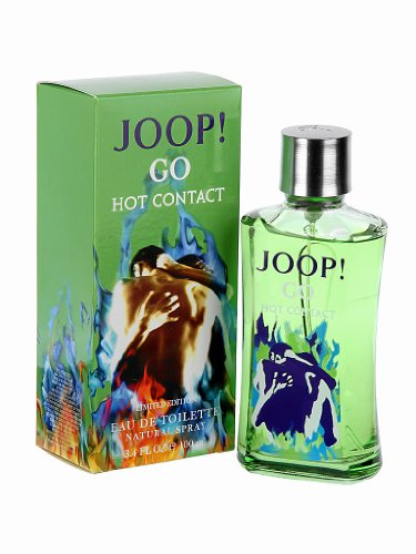 Joop! Go Hot Contact Pour Homme 3.4 oz Eau de Toilette Spray Limited Edition (Hot 3.4 Ounce Spray)