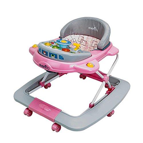 Evenflo 7151 Rocket Roy Andadera para Bebé, Color Rosa