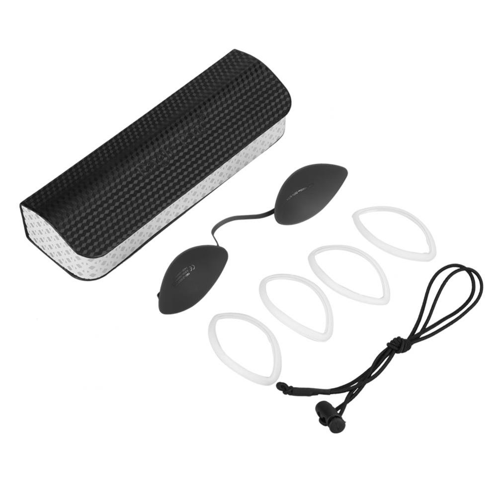 Stainless Steel OD7+ Eyepatch Glasses Laser Protection Safety Goggles for IPL Beauty Treatment
