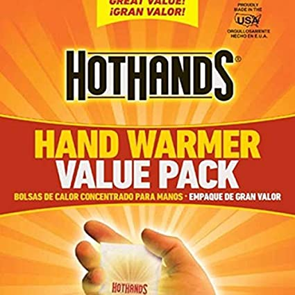 Amazon.com : HotHands Hand Warmers - Long Lasting Safe ...