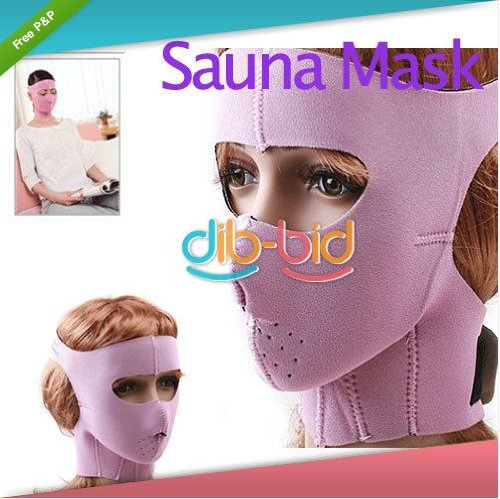 Vivan's Shop® Anti-wrinkle Anti Sag Sauna Mask Wrap Cheek Slim up Face Uplift Beauty Facemask