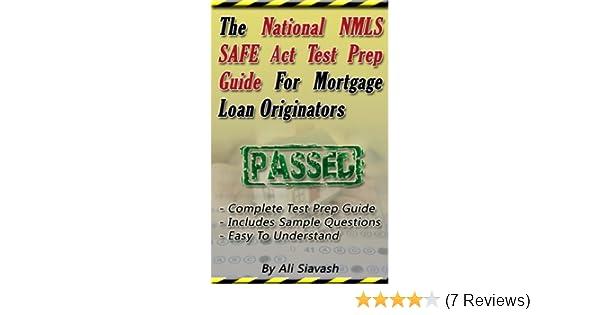 amazon com the national nmls safe act test prep guide for mortgage rh amazon com Social Study Exam Grade 7 Example SHRM Exam Study Guide