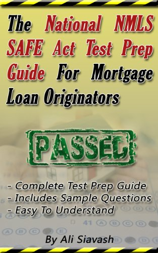 amazon com the national nmls safe act test prep guide for mortgage rh amazon com Nce Exam Study Guide Nce Exam Study Guide