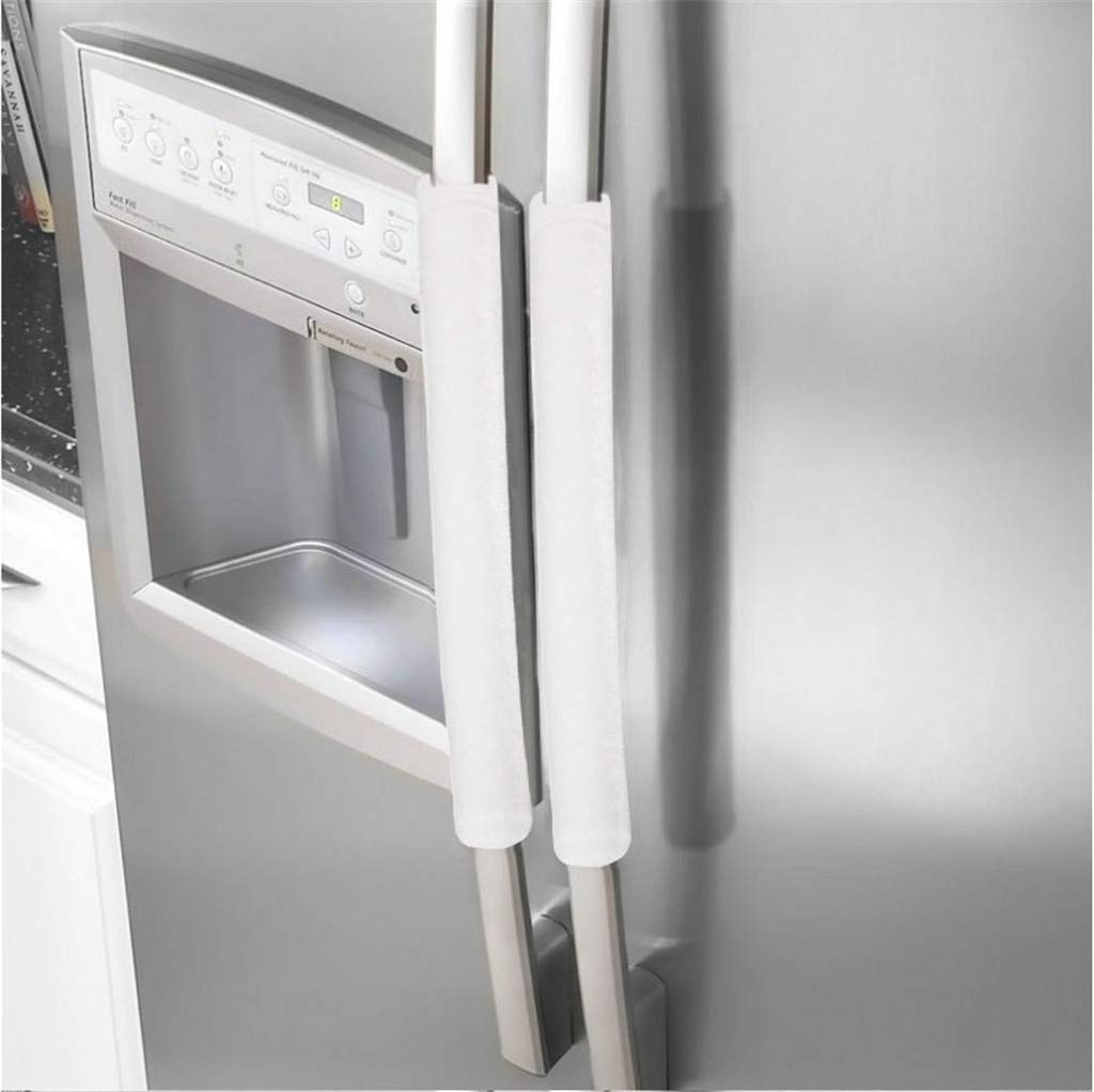 Sinwo A Pair Refrigerator Door Handle Cover Protective Kitchen Appliance Refrigerator Cover