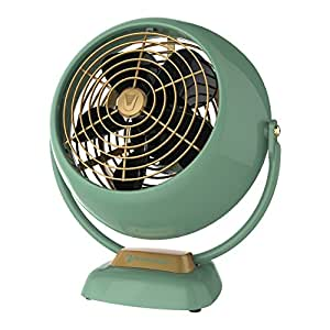 Vornado VFAN Jr. Vintage Air Circulator Fan, Green