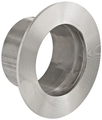 Dixon 14VB-R Series Stainless Steel 316L Sanitary Fitting, Unpolished Stub End, Tube OD