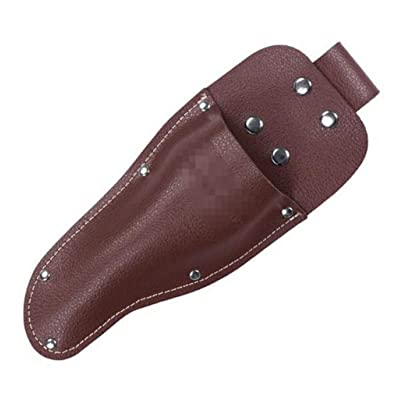 Rluii Garden Pruner Sheath/Premium PU Leather Holster Protective Case Cover Scabbard for Gardening Pruning Shears Scissor/Garden Scissors Sheath for Carry Gardening Tool : Garden & Outdoor
