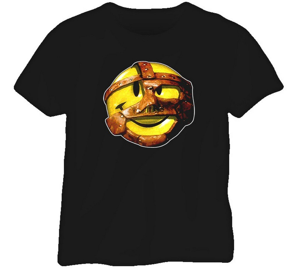 Mankind Mick Foley Retro Wrestling T Shirt L Black