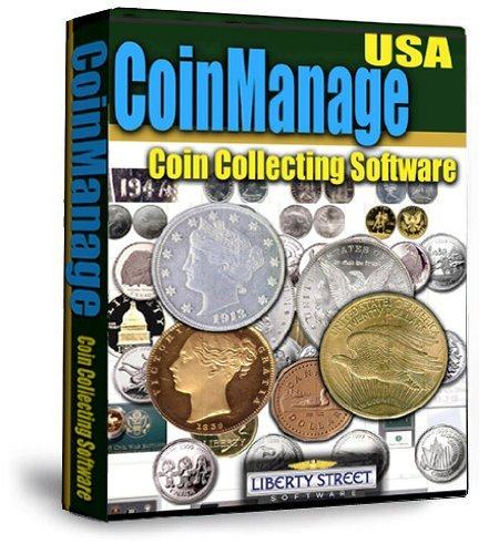 US Coin Collecting Software - Coinmanage USA 2017. Inventory Your Collection. Includes All USA Coins, Mint & Proof Sets + Commemoratives, Mint Products, American Eagles, Value Your Bullion