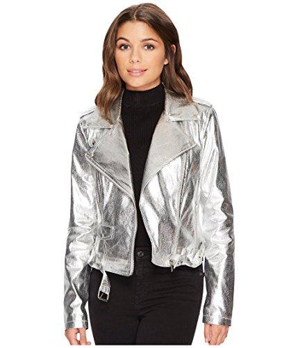 Silver Moto Jacket - 8