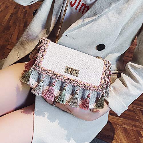 femme lettres tendance couture paquet de contraste sac couleur laser rétro jelly sac petit impression Sac paillettes transparent carré qxwHd40qT